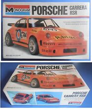 PORSCHE CARRERA RSR - Monogram 1:24 model kit