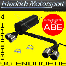 FRIEDRICH MOTORSPORT DUPLEX AUSPUFF VW GOLF 3 VARIANT VR6