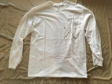 Kanye Pablo Pop Up SAN FRANCISCO SF WE KANYE LOVES KANYE WHITE L/S T-SHIRT L LRG