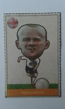 2014 Brazil World Cup Wayne Rooney Manchester United Venezuelan Newspaper Card