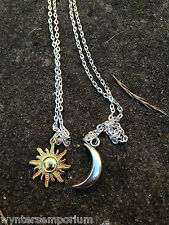 Moon Of My Life, My Sun and Stars Drogo Danearys Game of Thrones Necklace Set Bo