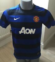 Authentic Manchester United 2011-12 Boys XL 13-15 Years Away Football Shirt