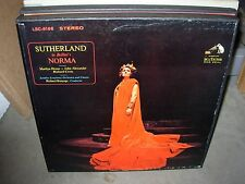BONYNGE / SUTHERLAND / BELLINI norma ( classical ) - 3lp - booklet -