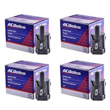ACDelco Ignition Coil (Set of 4)  Fits LS2, LS4, LS7 Model Round Coil 2nd Design