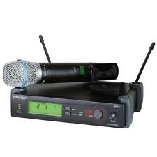 Shure SLX24B87A SLX Handheld Wireless System (with Beta 87A) Used
