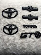 Toyota Gt86 Badges Complete Set ( Matte Black )