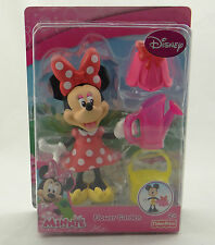 FISHER PRICE ~ DISNEY JUNIOR ~ MINNIE FLOWER GARDEN ~ 2012 Y1919 Playset ~ NEW