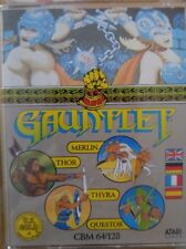 Gauntlet C 64 cassette (TAPE) (Game, Manual, imballaggio)