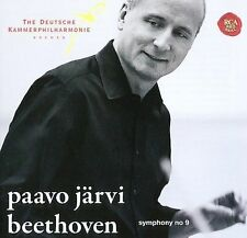 PAAVO JARVI Beethoven Symphony No. 9 Super Audio Hybrid CD SEALED RCA Victor Red