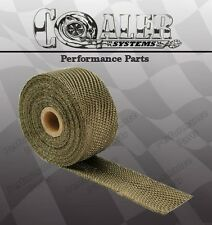 "Titanium Exhaust/Header Heat Wrap, 2"" x 50' Roll"