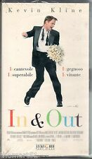 In & Out (1997) VHS Lucky Red  -  NEW