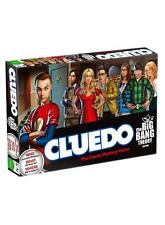 OFFICIAL WARNER BROS THE BIG BANG THEORY CLUEDO BOARD GAME BRAND NEW