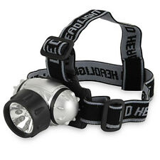 LED Headlamp Torch Light Lamp Battery Trail Camping Hiking Adjustable