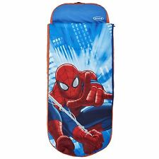 SPIDERMAN JUNIOR INFLATABLE READY BED - NEW - SLEEPING BAG - KIDS