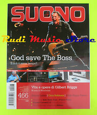 rivista SUONO 466/2012 Bruce Springsteen Johnny Lydon Kate Bush Patti Smith Nocd