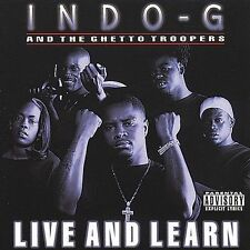 Live & Learn [PA] by Indo G (Cassette, May-2000, 404 Music Group) NEW Sealed