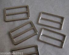 20Pc Metal Ring Buckle DIY Luggage Belt Shoe Slide Find Make Tool Diy Craft NEW