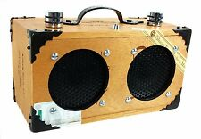 """The Dually"" Cigar Box Guitar Amplifier - Dual-Speaker Oliva Serie G 52-06-07"