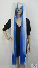 Hot!!!! New Vocaloid Hatsune Miku Show Anime Costume Cosplay Party Hari wig