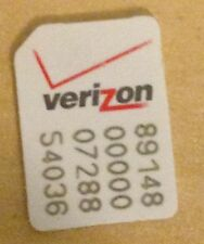 Verizon NANO SIM CARD for iPhone 6plus 6 5S 5C 5 Not for new service