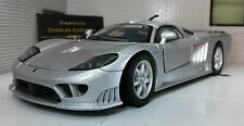 G 1:24 Scale Saleen S7 2005 Detailed Motormax Diecast Model Car Silver 73279S