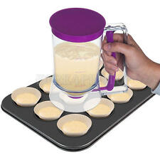 900ml Pancake Cupcake Batter Dispenser Cake Mix Measuring Release Jug Tool New