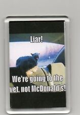 FRIDGE MAGNET Quotes Saying Collectors Gift Present Novelty Funny Cat