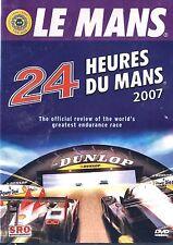 LE MANS 24 Hours 2007 DVD. Official Review. 120 Mins. Color. NTSC. D4262