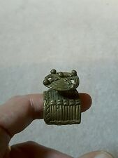 Rare antique dogon ring african not gold weight