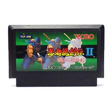Ninja Gaiden 2 II Ryukenden Shadow Warriors (NTSC-J/Japan) Nintendo Famicom Cart
