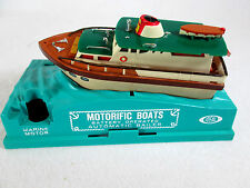 Vintage 1967 Ideal Motorific Boats Sea Wolf battery operated yacht (works)