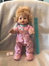Fisher Price  Little Mommy Walk N Giggle Walking Talking Baby Doll 15.5""