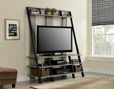 Altra Furniture Ladder Style Home Entertainment Center for TVs-48inch-Sonoma Oak