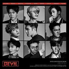K-POP SUPER JUNIOR Special Album [Devil] CD + Photobook + Photocard Sealed