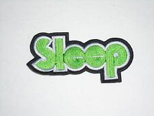 SLEEP STONER/DOOM METAL EMBROIDERED PATCH