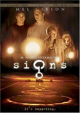 Brand New DVD Signs Mel Gibson Joaquin Phoenix Clifford David Lanny Flaherty