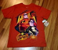 NWT DISNEY THE INCREDIBLES MR. INCREDIBLE VS SYNDROME SHIRT ADULT XS  *L@@K*