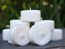 10pk 120hr/pk CITRONELLA & SCOTCH PINE Triple Scented ECO SOY TEA LIGHT CANDLES
