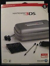 Nintendo 3DS Explorer Starter Kit 8 Items Included 2011