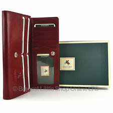 Top Quality LADIES ITALIAN RED LEATHER PURSE WALLET Visconti MONZA Gift Boxed