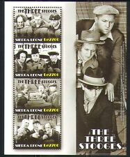 Sierra Leone 2009 Three Stooges/Cinema/Film m/s n32414