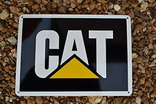 CAT CATERPILLAR Logo Sign Backhoe Skidsteer Excavator 319 329 Mechanic Shop
