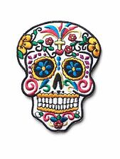 Dia de los Muertos (Day of the Dead) Candy Mask Embroidered Patch