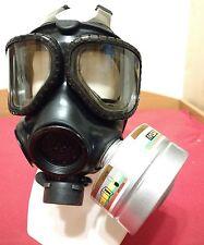 Gasmaske Schutzmaske Atemschutz NATO Filter Latex Rubber Gummi