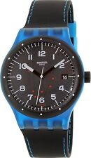 Swatch Men's Sistem51 SUTS402 Black Rubber Swiss Automatic Watch