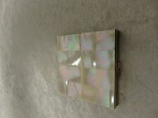 Vintage Volupte Mother of pearl compact