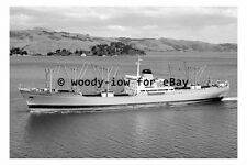 mc4879 - Shaw Savill Cargo Ship - Megantic in 1966 - photograph