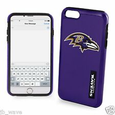 Baltimore Ravens NFL Football iPhone 6 Impact Dual Hybrid 2 Piece 3D Phone Case