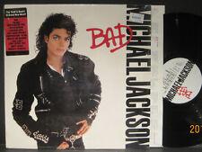 "Michael Jackson ""BAD"" 1987 Epic Records Lp still in shrink wrap w/ Hype Sticker"