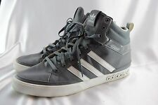 Adidas Top Court Retro Basketball Sneakers Medium Grey White Mens Size 11.5 NICE
